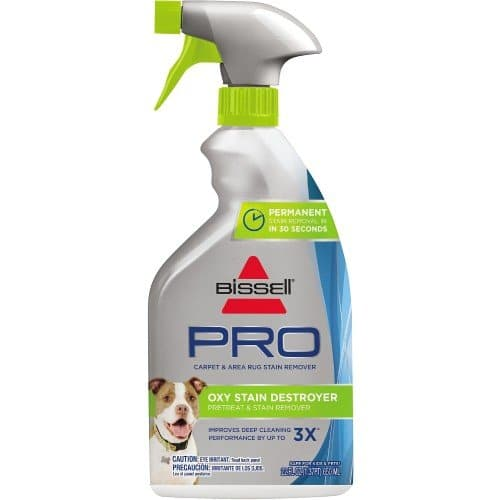 Bissell PRO Oxy Stain Destroyer Pet Pretreat Stain Remover Spray