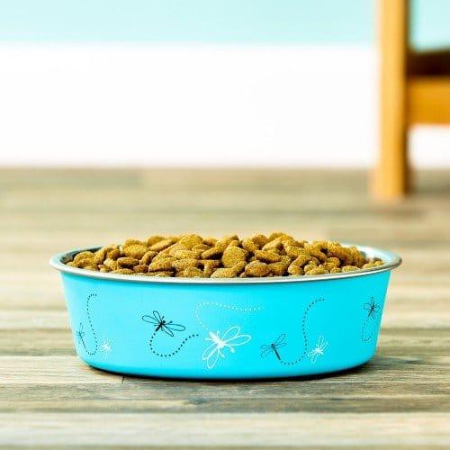 Loving Pets Bella Bowls Pet Bowl, Turquoise