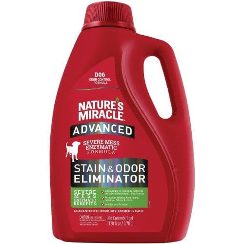 Nature's MiracNatures-Miracle-Advanced-Dog-Enzymatic-Severe-Mess-Stain-Odor-Eliminatorle Advanced Dog Enzymatic Severe Mess Stain & Odor Eliminator