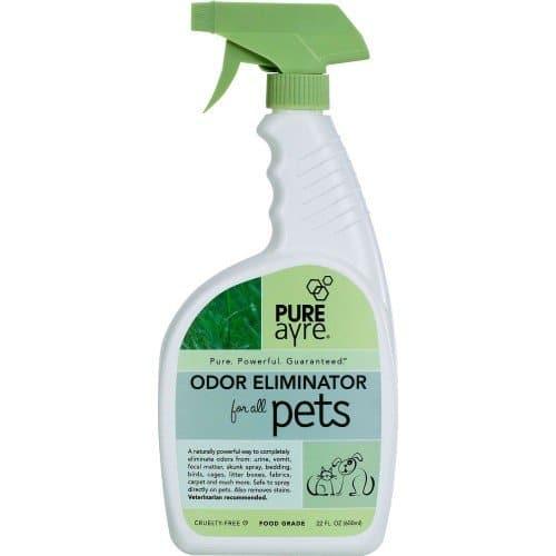 PureAyre Odor Eliminator Dog, Cat, Bird & Small Animal Spray