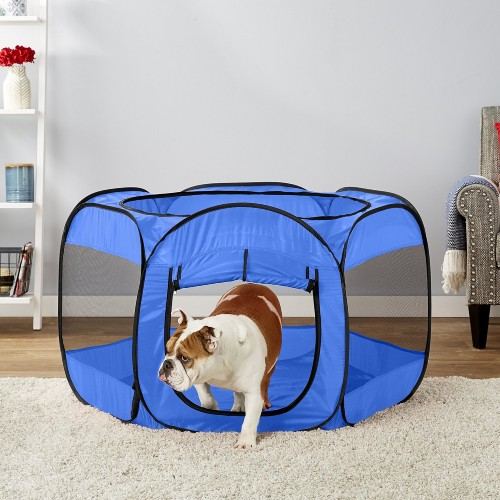 Paws & Pals Insta-Fort Portable Soft-sided Dog & Cat Playpen